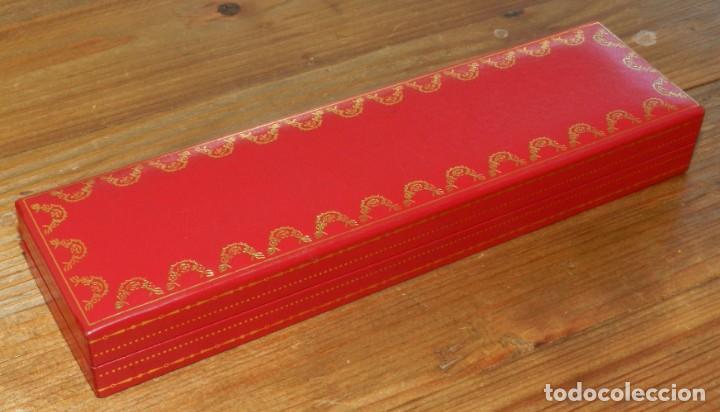 Plumas estilográficas antiguas: Boligrafo Cartier Le Must Vendome Serie Trinity. Chapado en oro 18 K. Incluye estuche original. Inic - Foto 12 - 293537898