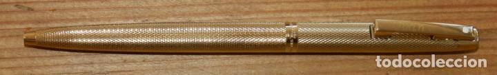 Plumas estilográficas antiguas: BOLÍGRAFO SHEAFFER. GOLD ELECTROPLATED. USA. EN SU ESTUCHE ORIGINAL. CON EL NOMBRE EN EL CLIP DE SU - Foto 3 - 293539083