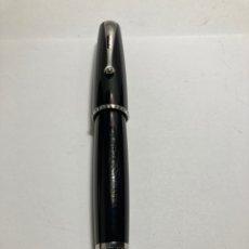 Penne stilografiche antiche: PLUMA MONTEGRAPPA 1912 RESINA NEGRA PRECIOS PLUMIN ESCRITURA M. Lote 293574113