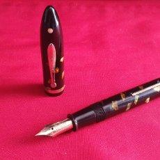 Plumas de tinta permanente antigas: PLUMA SHEAFFERS PAT D- 78.795 PLUMIN DE WARRENTED ORO 14 CTS. Lote 293891338