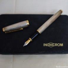 Plumas de tinta permanente antigas: ESTILOGRÁFICA INOXCROM. Lote 295643828