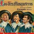 Etiquetas antiguas: CARTEL ITO NARANJAS LOS 3 MOSQUETEROS MODERNA. Lote 24469127