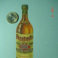 Etiquetas antiguas: 502 COÑAC BISABUELO PROPAGANDA AÑOS 1920 - ZUGAZABEITIA Y LEGARRA BILBAO - COSAS&CURIOSAS. Lote 11252054