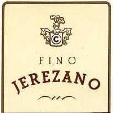 Etiquetas antiguas: ETIQUETA DE VINO FINO JEREZANO CONTERO&CO. JEREZ. Lote 5777420