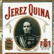 Etiquetas antiguas: ETIQUETA DE VINO JEREZ QUINA MAQUEDA&CIª JEREZ. Lote 5777534