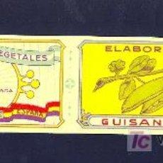 Etiquetas antiguas: REUS. REPUBLICA ESPAÑOLA. CONSERVAS VEGETALES. JOSE BESCOS. LITOGRAFIA.. Lote 26754700