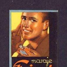 Etiquetas antiguas: ETIQUETA DE MASAJE FRICOT (PERFUMERIA, PERFUME LABEL, ETIQUETTE DE PARFUM). Lote 218465943