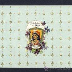 Etiquetas antiguas: ETIQUETA DE PERFUMERIA: VIOLETTES DU CONGO (20 X 14'5 CMS). Lote 8917324