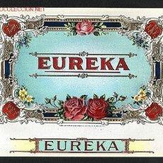 Etiquetas antiguas: ETIQUETA DE TABACO EUREKA, EN RELIEVE. Lote 1933915