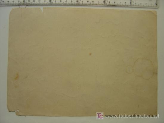 Etiquetas antiguas: ANTONIO PRADES SAFONT - CASTELLON - AÑOS 1910-20 - ORIGINAL DE ETIQUETA DE NARANJA PINTADA A MANO - Foto 2 - 27336592