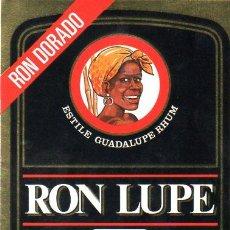 Etiquetas antiguas: ETIQUETA DE RON. RHUM. RUM. . Lote 12538932