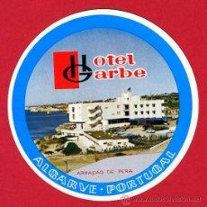 Etiquetas antiguas: ETIQUETA HOTEL -PORTUGAL- HOTEL ESTALANGEM DO CRUZEIRO - 90X 90 MM- ALJUBARROTA-. Lote 16992482