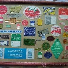 Etiquetas antiguas: ETIQUETAS ARTICULOS VARIADOS AÑOS 20-30. Lote 27209850