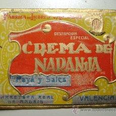 Etiquetas antiguas: ETIQUETA.CREMA DE NARANJA.PAYA Y SALES .VALENCIA.E011. Lote 246853175