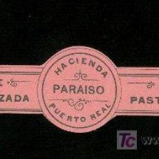 Etiquetas antiguas: ETIQUETA DE DE LECHE PASTEURIZADA. HACIENDO PARAISO. PUERTO REAL. CADIZ.. Lote 17154255