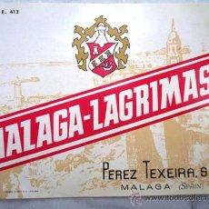 Etiquetas antiguas: ETIQUETA DE BOTELLA . Lote 17637162
