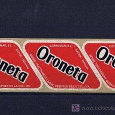 Etiquetas antiguas: ETIQUETA MELONERA ORONETA L´ENOVA. Lote 234320680