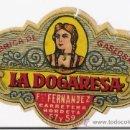 Etiquetas antiguas: LA DOGARESA *GASEOSA PEQUEÑA* **AÑOS 30/40** FRANCISCO FERNANDEZ BARCELONA. Lote 17920759