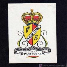 Etiquetas antiguas: ETIQUETA HOTEL - PENSAO SANDE - LISBOA - PORTUGAL.. Lote 24545063