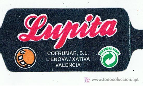 ETIQUETA PARA BOLSAS DE NARANJAS LUPITA XATIVA L´ENOVA VALENCIA (Coleccionismo - Etiquetas)