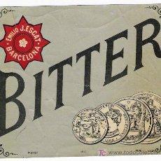 Etiquetas antiguas: BITTER . Lote 24889475
