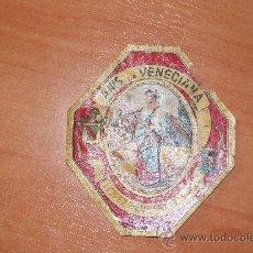 Etiquetas antiguas: ETIQUETA DE ANIS LA VENECIANA. Lote 26702688
