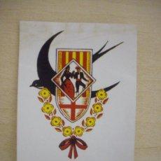 Etichette antiche: ADHESIVO DEL ESBART CASAL CULTURAL DANSAIRES MANRESANS . Lote 21400493
