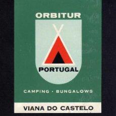 Etiquetas antiguas: ETIQUETA HOTEL - ORBITUR - VIANA DO CASTELO - PORTUGAL.. Lote 24141796