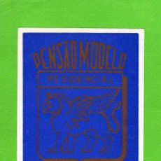 Etiquetas antiguas: ETIQUETA HOTEL - PENSAO MODELO - LISBOA - PORTUGAL.. Lote 24341350