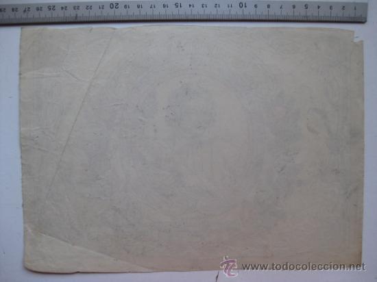 Etiquetas antiguas: SALVADOR CLARI, ALCIRA - AÑOS 1910-20 - ORIGINAL DE ETIQUETA DE NARANJA PINTADA A MANO - Foto 2 - 27346285