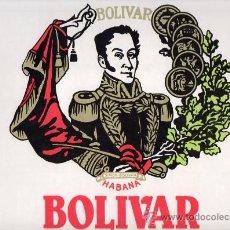 Etiquetas antiguas: ETIQUETA PEGATINA DE PUROS BOLIVAR IDEAL PARA CUADROS. Lote 25572067