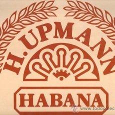Etiquetas antiguas: ETIQUETA PEGATINA DE PUROS H. UPMANN IDEAL PARA CUADROS. Lote 25572163