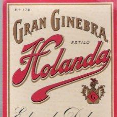 Alte Etiketten - Gran Ginebra estilo Holanda. Delage. jerez. - 26511188