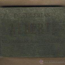 Etiquetas antiguas: CATÁLOGO 39 ETIQUETAS DESTILERIAS ALBERTI. VILAFRANCA DEL PANADÉS.CAVA RAMALLETS.ANIS. WISKY RON. Lote 29799091