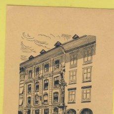 Etiquetas antiguas: ETIQUETA HOTEL - HOTEL HOFPIZ ZUR BEIMOT BER -SUIZA - 65 X 95 MM. Lote 30658127