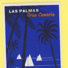Etiquetas antiguas: ETIQUETA HOTEL- CANARIAS - HOTEL PARQUE -LAS PALMAS DE GRAN CANARIA- 113 X 75 -MM. Lote 31103271
