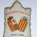 Etiquetas antiguas: ANTIGUA ETIQUETA - INDUSTRIA CATALANA - BARCELONA ( RARA Y DIFICIL DE ENCONTRAR ). Lote 31273609