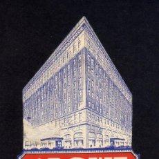 Etiquetas antiguas: ETIQUETA DE HOTEL - THE ROWE - GRAND RAPIDS - MICHIGAN - ESTADOS UNIDOS.. Lote 32589961