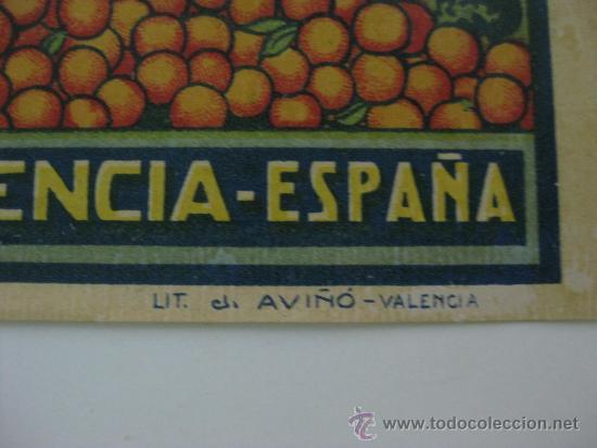 Etiquetas antiguas: 10 ANTIGUAS ETIQUETA DE NARANJAS - LEOPOLDO TALENS - POLIÑA DE JUCAR (VALENCIA) - Foto 4 - 28229069