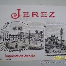 Etiquetas antiguas: ETIQUETA JEREZ RARISIMA. SE VENDE TAL COMO SE OBSERVA . Lote 35998457