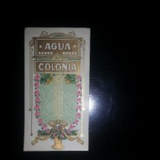 Etiquetas antiguas: ETIQUETA GENERICA AGUA COLONIA PROBABLE FARMACIA SERRA REUS. Lote 36743307