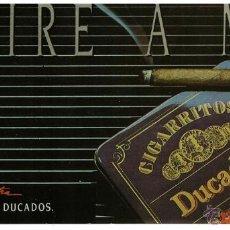 Etiquetas antiguas: ADHESIVO O PEGATINA DE CIGARRITOS DUCADOS ' CAPA SUMATRA '. EDITADA EN DÉCADA DE LOS 80.. Lote 40180565