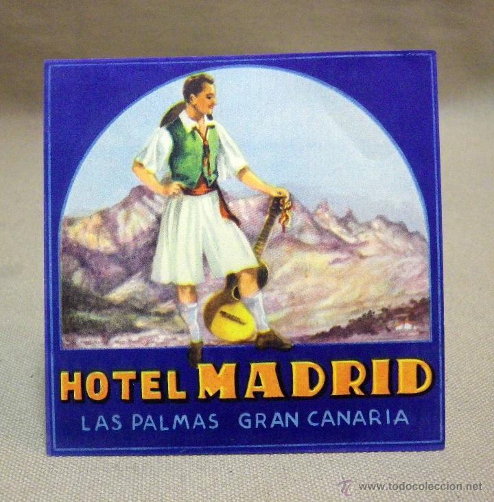 Etiqueta Etiqueta Publicitaria Hotel Madrid Comprar Etiquetas