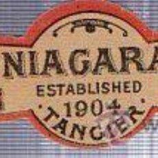 Etiquetas antiguas: ETIQUETA DE AGUA. E.C. Z. NIAGARA. TANGER. 1904.. Lote 41683458