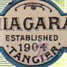 Etiquetas antiguas: ETIQUETA DE LEMONADE. E. C. Z. NIAGARA. TANGER. 1904.. Lote 41684528