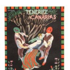 Etiquetas antiguas: ETIQUETA DEL HOTEL MENCEY, TENERIFE CANARIAS. Lote 43902300