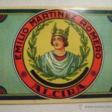 Etiquetas antiguas: ETIQUETA DE NARANJA.EMILIO MARTINEZ ROMERO,ALCIRA.E-187. Lote 57739608