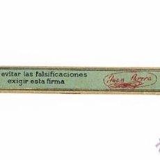 Etiquetas antiguas: ETIQUETA JUAN PARERA ESTAMPA COMERCIAL ANTIGUA. Lote 46211286