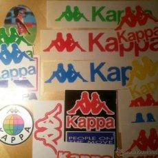 Etiquetas antiguas: ETIQUETAS ADHESIVAS DE KAPPA. AÑOS 80-90. Lote 46608580