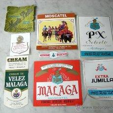 Etiquetas antiguas: LOTE DE ETIQUETAS ANTIGUAS. Lote 47584448